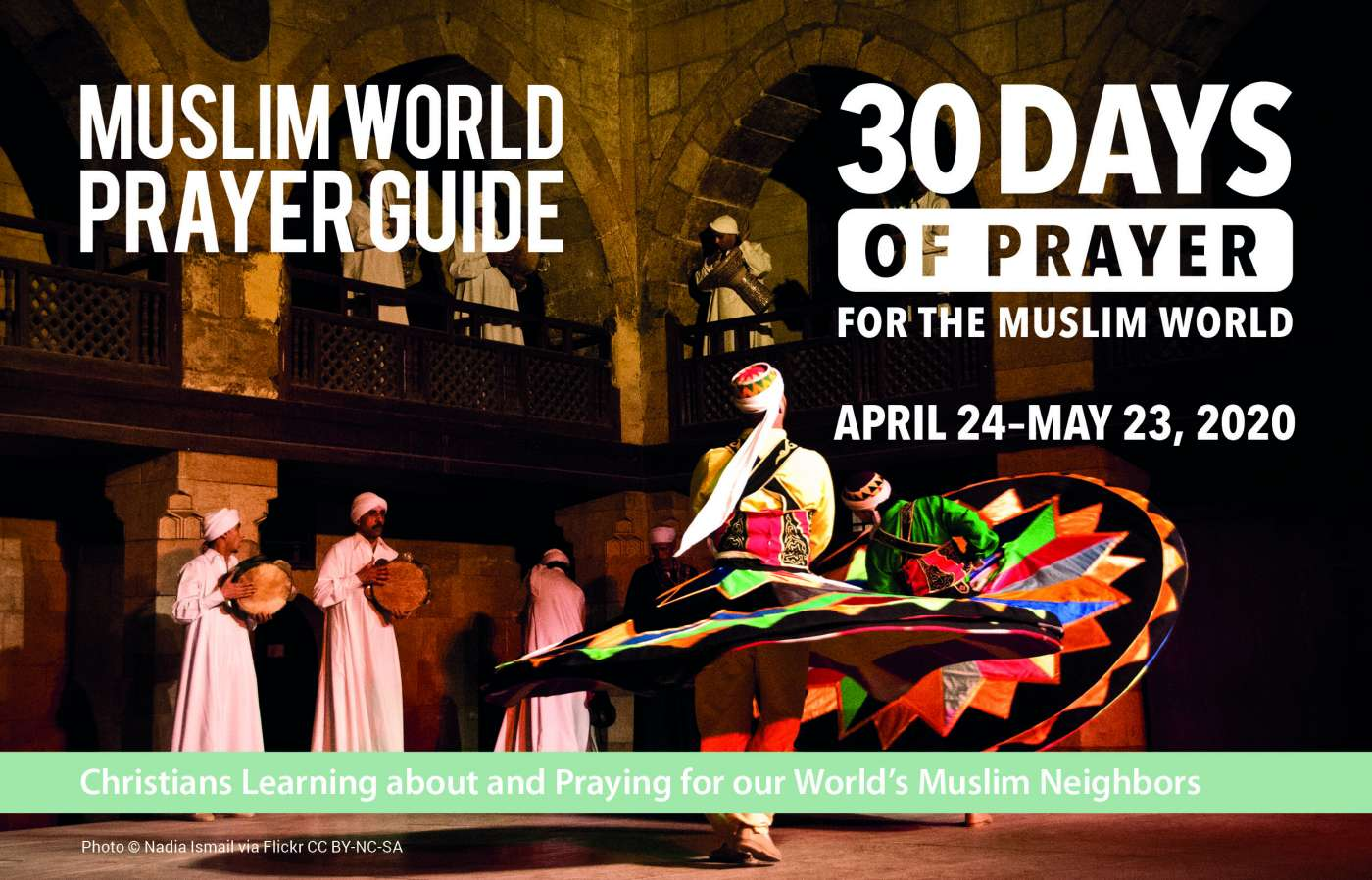 30 DAYS Muslim World Prayer Guide: 2020 (FREE sample booklet)