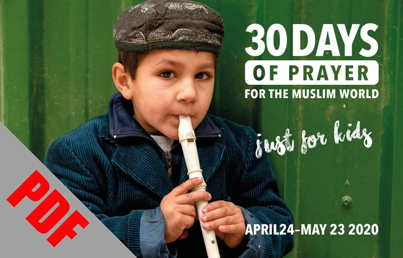 30 Days Muslim World Prayer Guide: Just for Kids 2020 (downloadable file/Read Product Details)